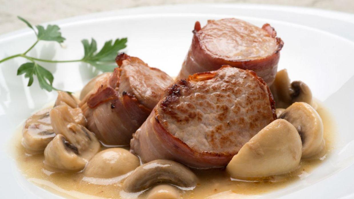 Receta De Solomillo De Cerdo Con Champiñones En Salsa   Karlos Arguiñano    Cocina Abierta