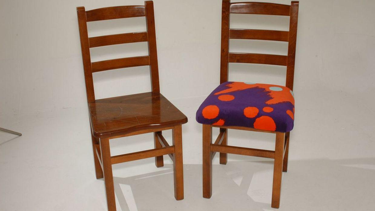 Restaurar y tapizar una silla de madera - Bricomanía