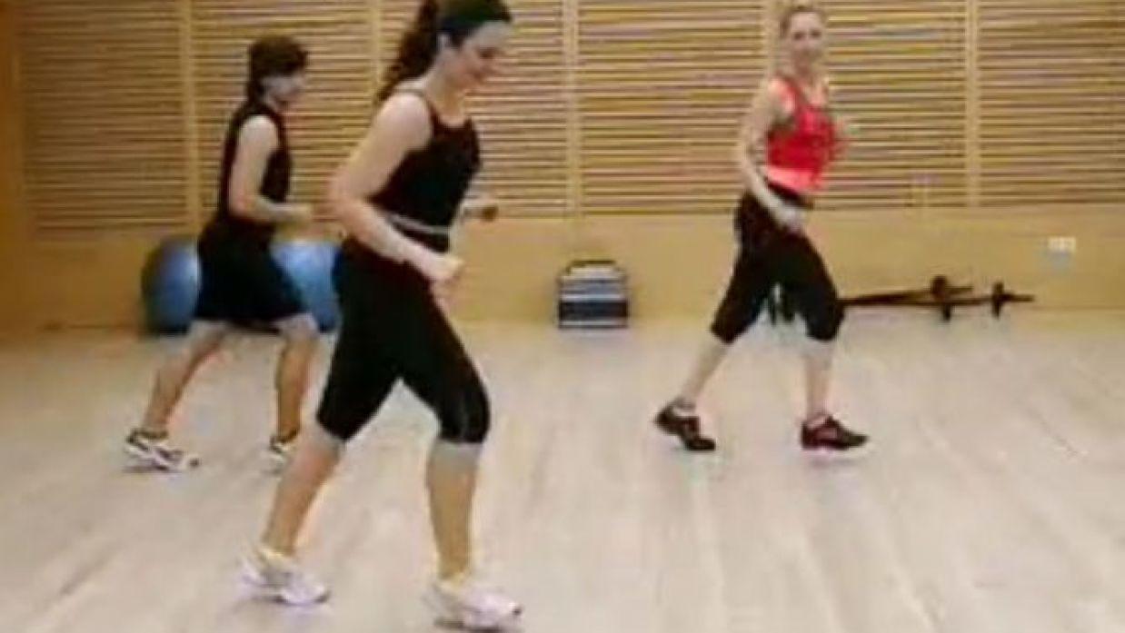 pasos aerobicos para principiantes