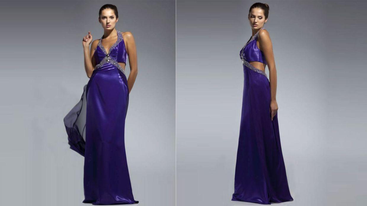 Como hacer un vestido largo de noche