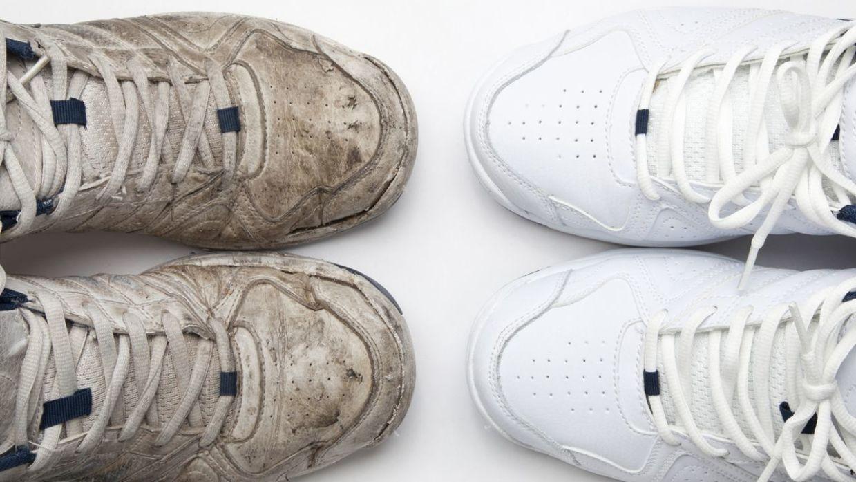Resultado de imagen para zapatillas limpias