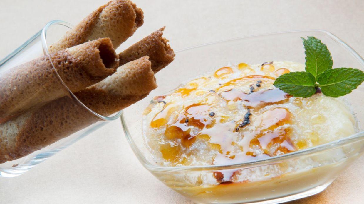Receta de Crema pastelera con canutillos - Eva Arguiñano - Cocina Abierta