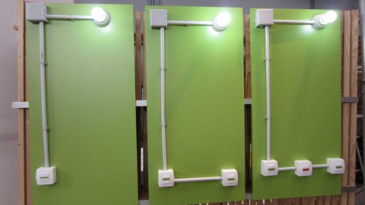 Circuito Electrico Simple De Una Casa : Circuitos de iluminación bricomanía