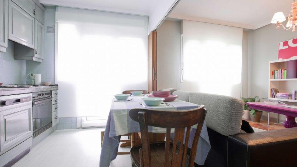Decorar salón abierto a cocina con comedor - Decogarden