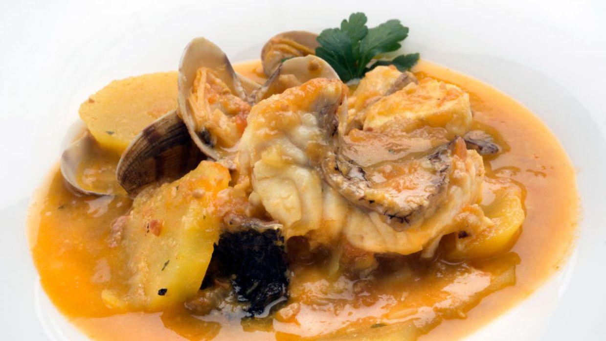Receta De Suquet De Pescado Y Almejas Karlos Arguiñano Cocina