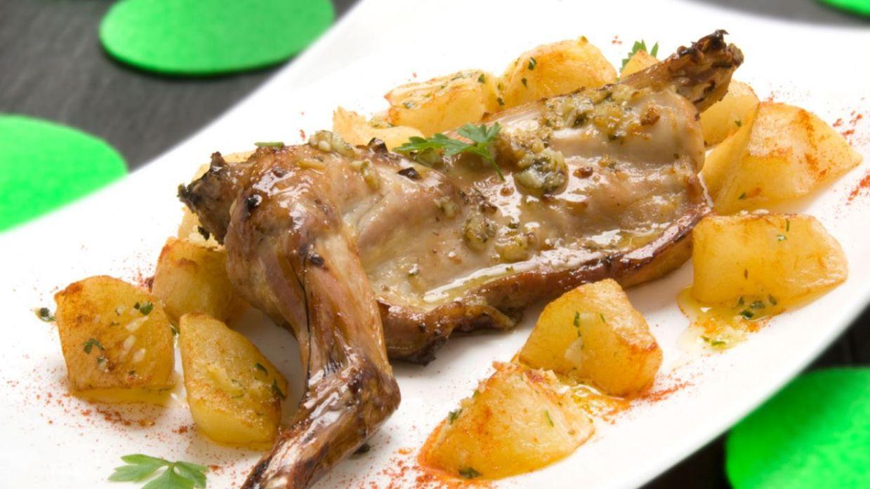 Conejo al horno dieta