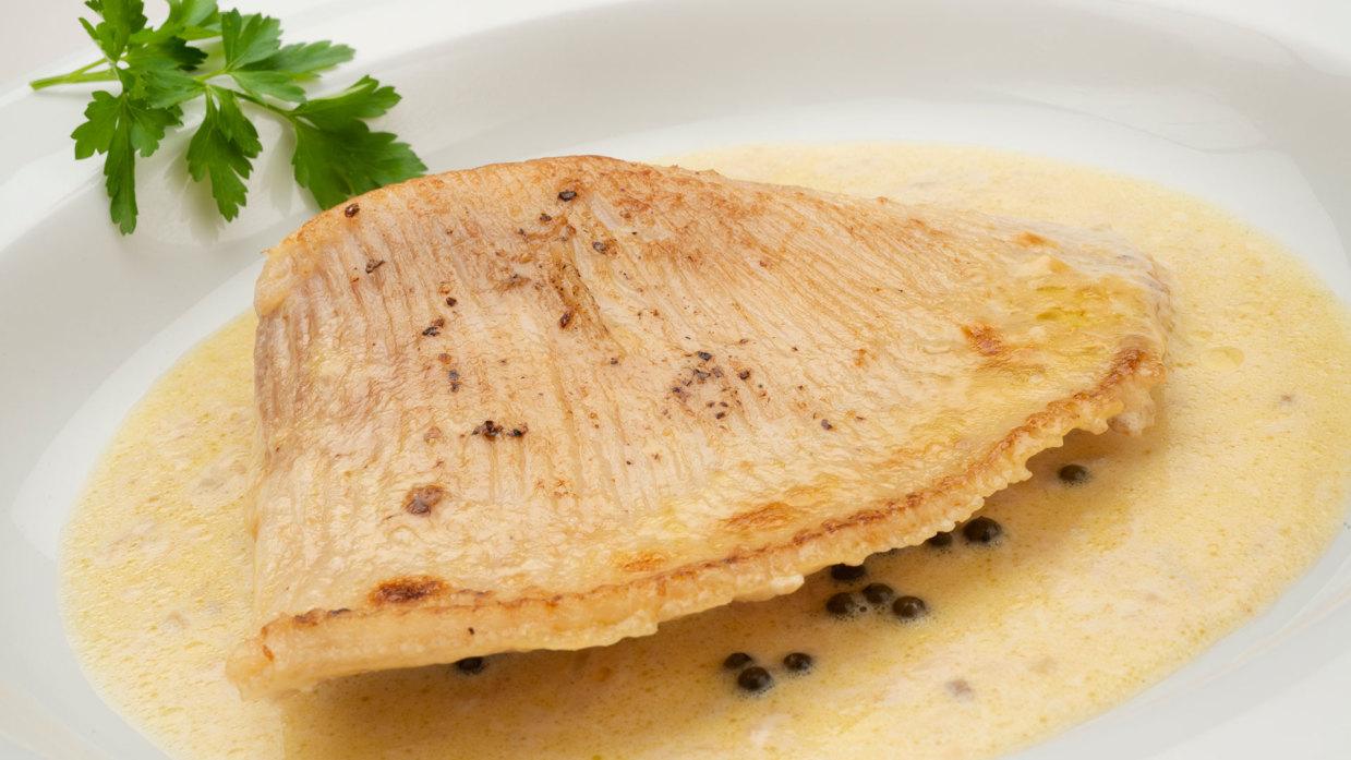 Como Cocinar La Raya | Receta De Raya A La Pimienta Verde Karlos Arguinano Cocina Abierta