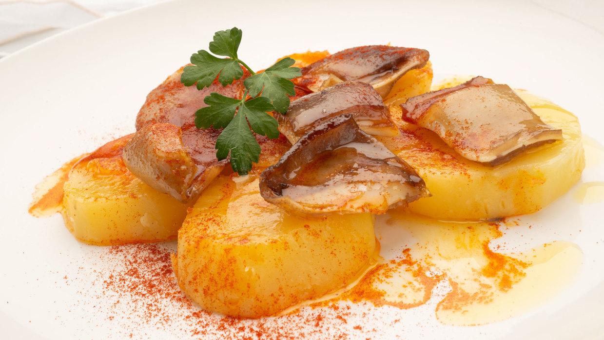 Receta De Oreja De Cerdo Con Patatas Al Pimentón   Karlos Arguiñano   Cocina  Abierta
